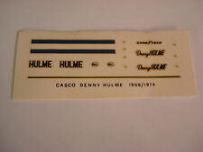 DECALS KIT 1/12 DENNY HULME  MCLAREN F1 LE MANS DECALCOMANIA