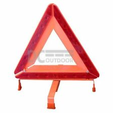 Foldable Safety Triangle with LED Light - Emergency Reflective Warning