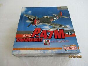 Dragon Wings #50089 P-47M Thunderbolt USAF 61st FS, 56th FG 1/72 Scale Diecast