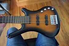 Warwick Rockbass Corvette 5 string bass , active electronics, extra's , clean