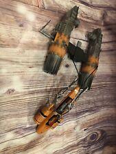 1999 Star Wars Episode I SEBULBA'S POD RACER Fighter Ship Toy