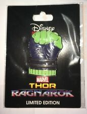 Disney Marvel DSSH DSF Thor Ragnarok Hulk Fist Pin LE 300 Studio Store Hollywood