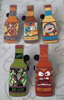 Hot Sauce Bottle Booster Villain Disney Pin Make a Set Lot