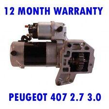PEUGEOT 407 2.7 3.0 HDI 2005 2006 2007 2008 - 2015 RMFD STARTER MOTOR