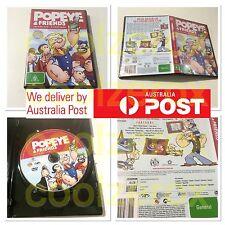 Popeye & Friends Volume One - 8 Cartoons Multiple Language/Subtitle - Aus Seller