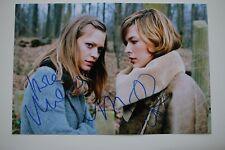 Milla Jovovich & Heike Makatsch signed 20x30 Resident Evil Autogramm Autograph