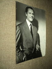 EDDIE CONSTANTINE ANCIENNE PHOTO FORMAT 13*18 ***DEDICACE ORIGINALE***