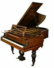 French Antique Classic 19th Century Pleyel Parlor Grand Piano 1884
