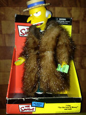 The Simpsons Talking and Singing Mo Money Mr. Burns Dashboard Wobbler Figure