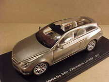 Spark 1/43 Resin 2010 Mercedes-Benz Fascination SW Concept Car, Silver  #S1057