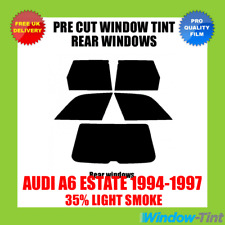 AUDI A6 ESTATE 1994-1997 35% LIGHT REAR PRE CUT WINDOW TINT