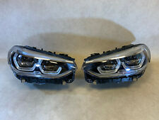 BMW X3 G01 G08 F97 X4 G02 F98 GENUINE Full Led Adaptive Headlight SET EU Spec
