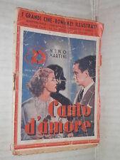 CANTO D AMORE Nino Martini Taurinia 1936 cineromanzi illustrati 73 cinema libro