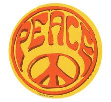 SKU2721 Hippy Camper VW Sticker Decal Ban The Bomb Peace Logo CND