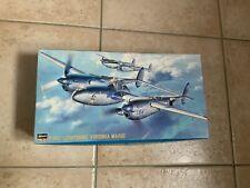 Maquette 1/48 Avion Militaire P-38J Lightning Virginia Marie Hasegawa