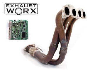 HONDA ACCORD 2.4 CL9 2003-2006 EXHAUST MANIFOLD- EXHAUSTWORX + REFLASH SERVICE
