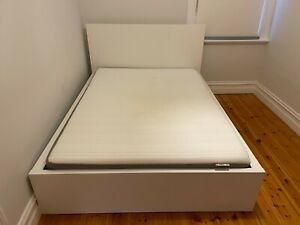 Ikea Malm bed frame and double mattress