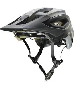 Fox Racing Speedframe Pro Helmet [Green Camo] M