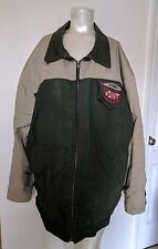 """Vintage Spike Lee 40 Acres And A Mule """"SPIKES JOINT"""" Canvas Jacket Size 2XL"""