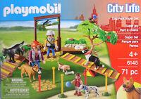 PLAYMOBIL 6145 Super Set Hundeschule Hunde Katze Trainer Parcours 6145 Super NEU