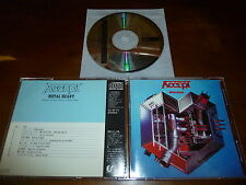 Accept / Metal Heart JAPAN 32.8P-73 1ST PRESS!!!!! A6