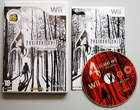 Jeu RESIDENT EVIL 4 pour Nintendo Wii PAL COMPLET (CD remis à neuf) VF