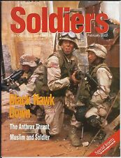 Soldiers Magazine, Feb 2002; The Official U.S. Army Magazine; Special Inserts