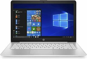 "HP Stream 14-cb187nr 14"" HD Celeron N4000 4GB RAM 64GB eMMC White"