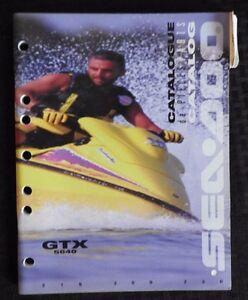 GENUINE 1996 SEA DOO GTX 5640 JET SKI WATERCRAFT WAVERUNNER PARTS MANUAL