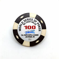 WSOP World Series of Poker Tournament Chip $100 · Rio Casino Las Vegas Nevada BJ