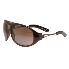 Diesel - Shiny Brown Gradient Aviator Style Sunglasses with Case
