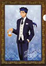 Fate/stay night Fate stay A4 Clear File Folder Lancer Unlimited Blade Works F