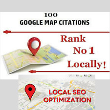 100 Google Map Citations with Backlinks for Local SEO Get Ranked in Top Google!