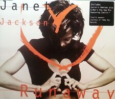 JANET JACKSON CD RUNAWAY  FREE POST IN AUSTRALIA