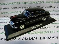 BAL38 Voiture 1/43 IXO DEAGOSTINI Balkans : GAZ ZIM 12 limousine