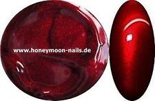 5ml UV Farbgel metallic DARK VAMPIR RED Traumhaft schöne Farbe !!!