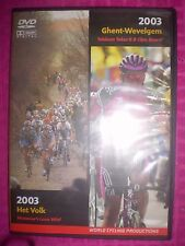 2003 Ghent-Wevelgem and Het Volk - (2 DVD SET) CYCLING RACES - FAST SHIPPER RARE