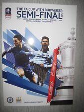Chelsea v Manchester City FA Cup Semi Final 2013