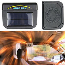 Solar Sun Powered Power Window Fan Ventilator Auto Cool Air Vent Car Vehicle CA
