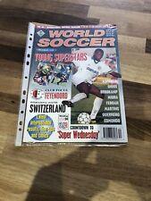 world soccer magazine Dec 1993 - Asprilla Parma Cover ⚽️