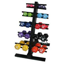 Cando Floor Rack Supporting Dumbbells 20 Dumbbells Capacity