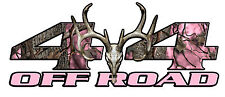 4x4 Decals Sticker for Dodge Ram Chevy Ford Toyota Truck Pink Skull Graphic Kit