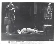 """Connie Stevens and Parley Baer in """"Two on a Guillotine"""" Vintage Movie Still"""