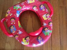 Soft Giggles Dora the explorer cushioned potty seat by Ginsey
