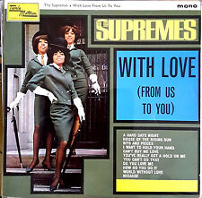 SUPREMES - WITH LOVE (From Us To You),   UK Tamla Motown,  Album '65 , TML 11002