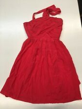 Madewell Twilight Twirl Dress in Vivid Poppy Red 0 Style 67160 Broadway Broome