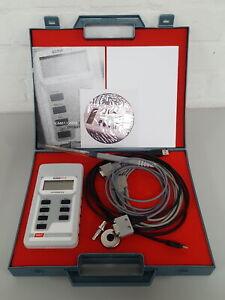 Hirst Gaussmeter Magnetico GM08 Gauss Metro con Custodia