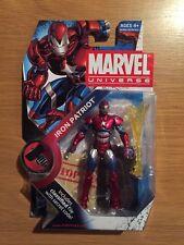 2009 Marvel Universe Iron Patriot Action Figure MOC Sealed Hasbro Series 2 #19