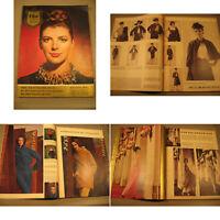 Film und Frau Zeitschrift von 1961-25.Zeitgeist,Mode Werbung.Fred Astaire