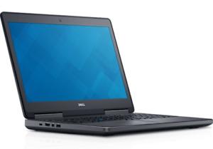 """Dell Precision 7510 i7 6820HQ 2.7GHz 8GB 256GB Solid State 15.6"""" 1920x1080."""